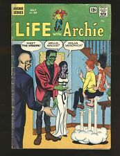 Life With Archie # 39 Horror/Sci-Fi Cover Good Cond cover detached at top staple