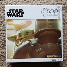 Star Wars The Mandalorian The Child Baby Yoda 500 Piece Puzzle
