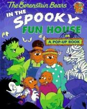 The Berenstain Bears in the Spooky Fun House Pop Up Book Hardcover Halloween