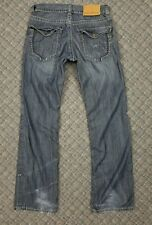 Mens MEK Jeans Cologne 31 X 34 Voyage Collection EUC Pre-owned Zip Fly