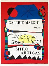 Joan Miro Poster for Galerie Maeght