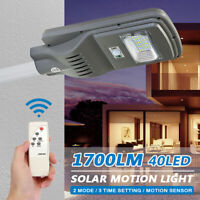 Solar Lights Motion Sensor Wall Light Security Outdoor Garden Yard Lamp  1@