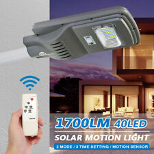 Solar Lights Motion Sensor Wall Light Security Outdoor Garden Yard Lamp +