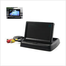 """Folding Car SUV Reverse Rearview Parking Monitor 4.3"""" LCD Color Display Screen"""