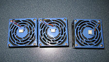 3x Delta Electronics Gehäuselüfter FFB0812EHE Server Chenbro Micom RM23212 2U