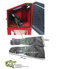 gants caoutchouc pour cabine 220-280-350-440-990L  (L:59cm/l : 30cm)