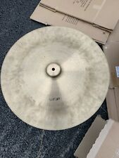 """More details for free p&p. beautiful vintage ufip 20"""" china crash ride cymbal. 1800g"""