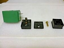 Asco 256104 DIN termination module for Red Hat II coils w/spade treminals, G203