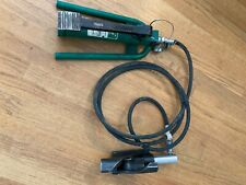Greenlee 800f1725 Hydraulic Cable Bender With Foot Pump And Hose