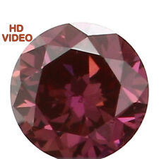 2.36 MM 0.06 Ct Natural Loose Diamond Cut Round Shape Pink Color VS1 N5115