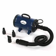More details for pedigroom dog blaster pet dryer grooming hair hairdryer heater wash dry blue