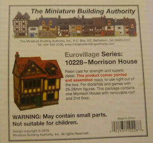 MBA 25mm Eurovillage Series 10228 Morrison House Miniature Building Authority