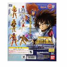 Saint Seiya Cavalieri Zodiaco set gashapon Bandai Full Set of 6 figures part 5