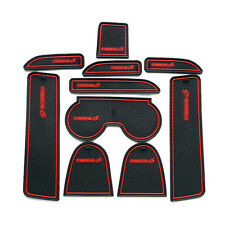 Non-Slip Interior Soft Rubber Door Panel Mats Cup Holder Pad For Mazda 6 03-2005