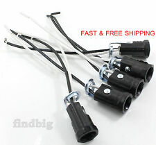 "5 Pcs Candelabra Base E12 Lamp Holder Light Sockets Keyless 6"" Wire Leads"