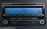 REFURBISHED VW RCD 310 PASSAT SCIROCCO GOLF TOURAN CADDY CD RADIO  +CodeWarranty