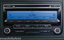 VW RCD 310 PASSAT SCIROCCO GOLF TOURAN CADDY CD RADIO + Code 3 Months Warranty