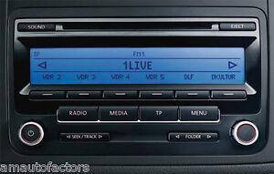 VOLKSWAGEN PASSAT SCIROCCO GOLF TOURAN CADDY RCD310 CD RADIO + Quality Part