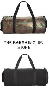 Ideology workout bag Stretch Duffel Bag Black OR Black RainBow Snake