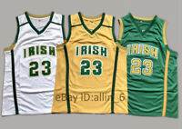 LeBron James #23 St Mary Irish High School Basketball Jersey Men's Stitched