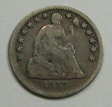 1857 Silver Seated LIBERTY Half Dime.  #13
