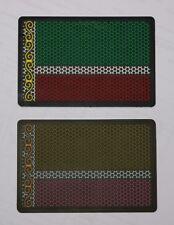 Chechen republik Чечня Чечен Chechnya SWAT special forces flag PVC patch