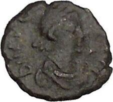 ARCADIUS 404AD Authentic Ancient Roman Coin Cross  i42705