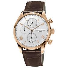 Frédérique Constant Men's FC-392MV5B4 Automatic Chronograph Rose Gold 42mm Watch
