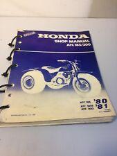Service Shop Repair Manual Honda ATC185 LOOK!!!! Make offer!!! free shipping!!!!