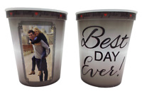 Stadium Cups for Weddings Custom Wedding Stadium Cups Cheers to Forever Wedding Stadium Cups 315 Stadium Cup Wedding Favors for Guests