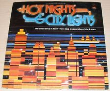 HOT NIGHTS & CITY LIGHTS ALBUM 1979 K-TEL RECORDS TU-2710 BLONDIE SISTER SLEDGE
