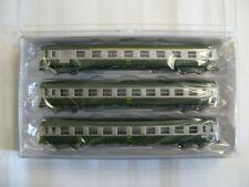 3 voitures Express - Paris SNCF EP Iv-n 1/160-minitrix 15502