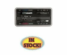 Vintage Air Gen II 4-Lever Fingertip Control Panel - Horizontal - 49110-SHQ