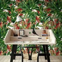 Removable wallpaper Exotic flower Tropical flowers decor self adhesive art