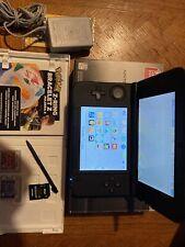 Nintendo 3DS XL Handheld System - Black. Pokémon Moon And Ruby. 4gb Sd Card