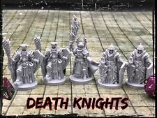 Death Knights Set of 5 Miniatures 28mm Dungeons and Dragons DnD Game Decor Mini