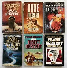 6 Frank Herbert Scifi Classics - Dune - Whipping Star - Dosadi - Novel Book Read