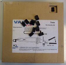 Pack of 200 7mm Smart Band Standard Buckles VT-7HBK