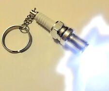 Spark Plug led light key chain Keychain Cool gift  Car SUV Truck USA