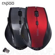 Schwarz Rapoo 2.4 GHz Wireless Gaming Maus Mäuse für Computer Laptop Geschenk