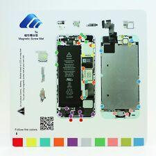 Professional Technician Repair Pad Guide Magnetic Screw Mat For Apple iPhone 5s