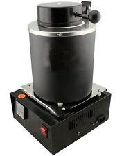 Automatic Melting Furnace Melt Silver Gold Pour Bar Digital Controller2kgs Black