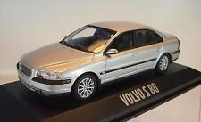 Minichamps 1/43 Volvo S 80 silbermetallic in Werbebox #1873