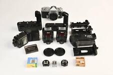 Nikon Mixed Lot - Nikomat, Flashes, Motor Drives