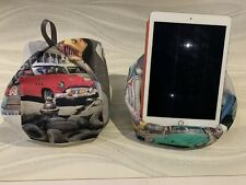 Car Design iPad tablet cushion Beanbag stand holder fits tablets kindle books