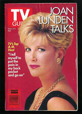 JOAN LUNDEN 1992 TV GUIDE Collectible Small Format No Address Label