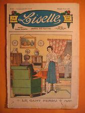 LISETTE N° 25 du 18/06/1933 -3ème année -éditions de Montsouris