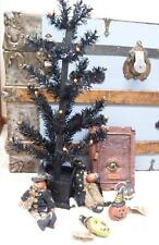 "NWT Ragon 24"" BLACK Dead TREE HALLOWEEN Display PROP Black Wood Metal"