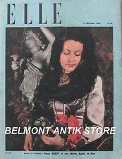 Elle n°56 - 1946 - Fourrage - Noblesse de robe - Très belles publicités détachab