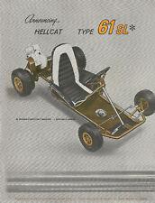 Vintage & Rare 1960 Percival Hellcat 61 Sl Go-Kart Ad
